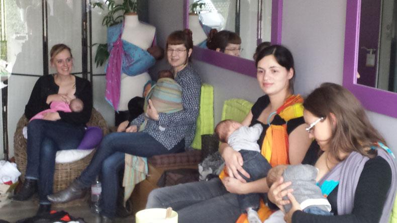 Apprendre à porter son bébé   Atelier de portage ventral à Nancy ... b70c77420f4