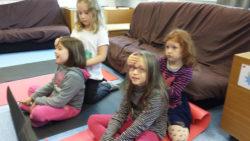 Atelier P'tibou relax, un massage pour enfant