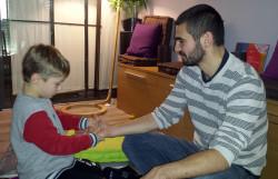 atelier d'éveil Tibou Relax : massage pour enfant près de Nancy