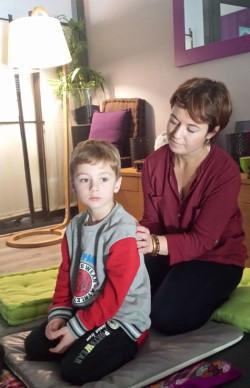 massage famille : massage pour enfant, Nancy