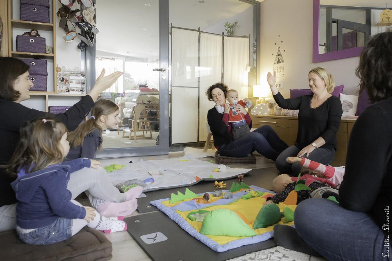 Atelier de communication gestuelle associée à la parole
